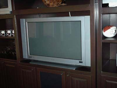 large older tv