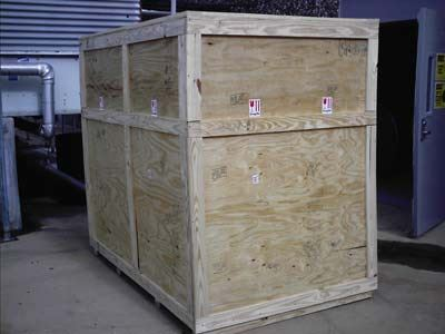 commercial packing crate